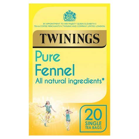 Twinings Detox Tea Sweet Fennel by Morrisons Twinings Fennel Tea Bags 20 Per Pack Product