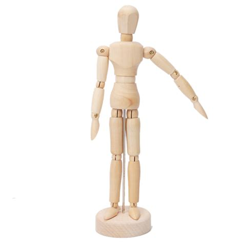 Drawing Mannequin wooden figure 8 quot manikin mannequin for table display