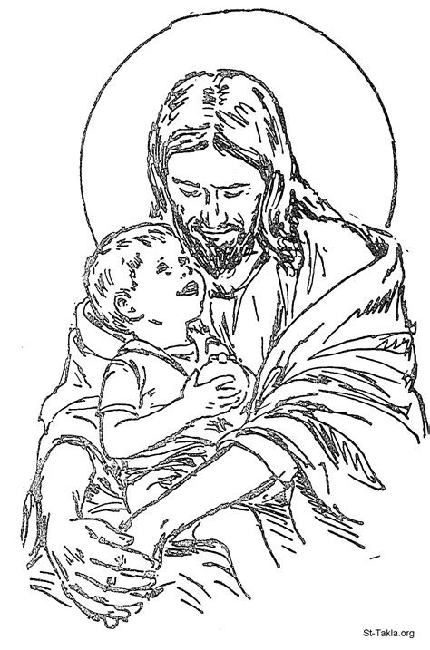 Free Coloring Pages Of Jesus Christ Coloring Pages With Jesus