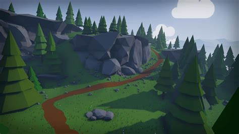 Home Design 3d Free Game stylized low poly environment by mackenzie shirk in