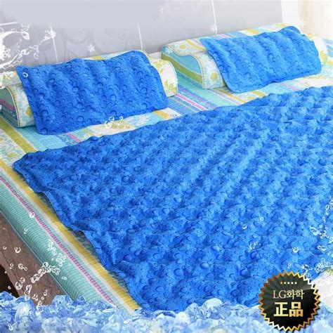 hanil cool gel mattress bed pad cooling topper waterdrop 1