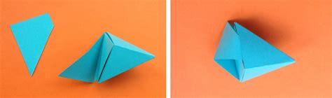 Origami Triangle - origami triangle pyramid step studio design gallery