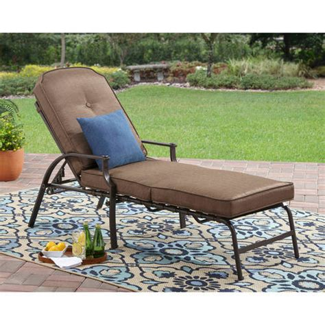 patio lounge chairs walmart mainstays wentworth chaise lounge walmart