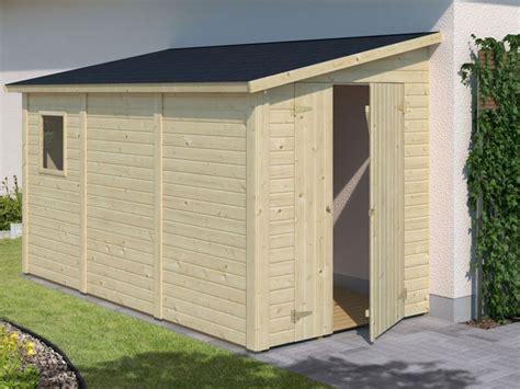 cobertizos de jardin cobertizo de madera mia 5 2 m2 para le 209 a o accesorios de