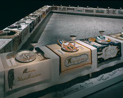 dinner by judy chicago selected work 171 judy chicago
