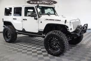 Jeep Rubiccon 2017 Jeep Wrangler Rubicon Rock Unlimited White