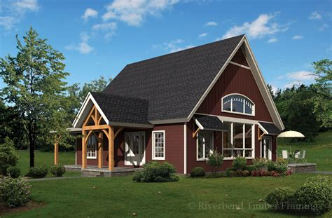 timber frame house plans cottage free home plans a frame cottage plans