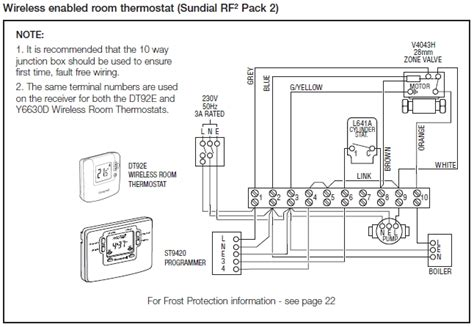 honeywell motorised valve wiring diagram honeywell