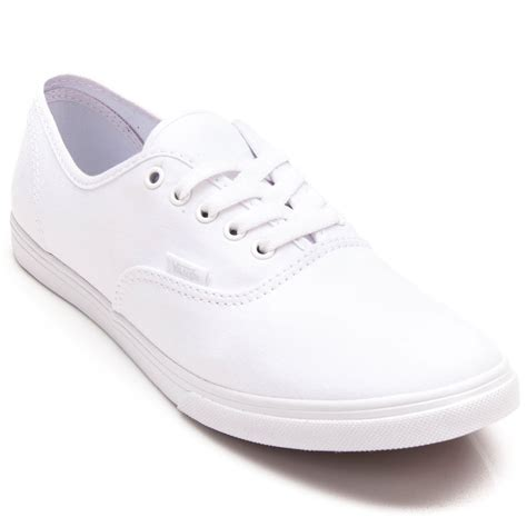 Vans Authentic Icc White vans authentic lo pro shoes