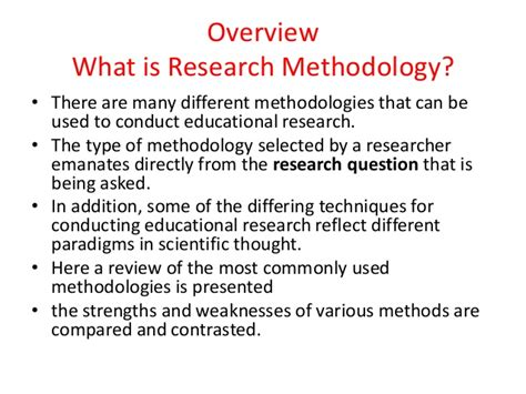 what is the research research methods in education and education technology