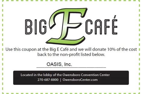 discount voucher oasis big e cafe coupon oasis women s shelter shelter for