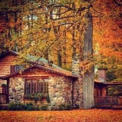 Rochester Home Decor Autumn Cottage Cabin Fever Pinterest Log Cabin