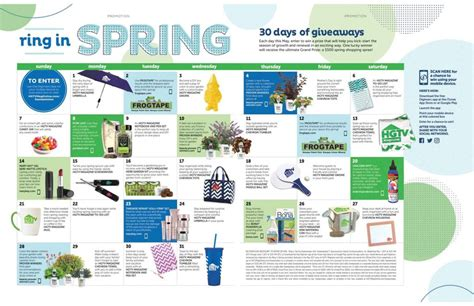 Hgtv Magazine Giveaways - hgtv magazine ring in spring 30 days of giveaways giveawayca com