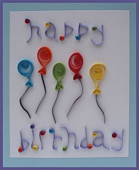 How To Make Handmade Cards For Birthday - handmade birthday card ideas handmade birthday card made