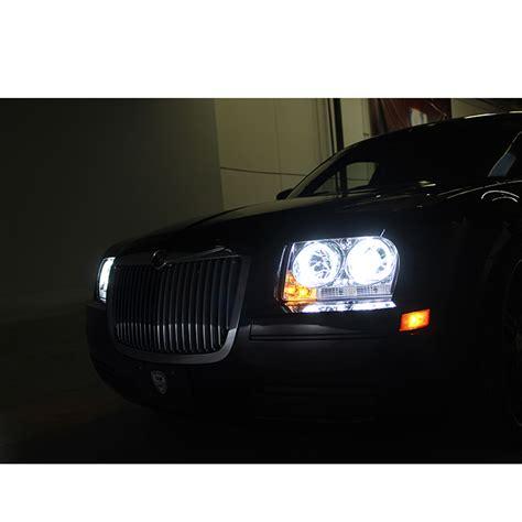Hid Lights For Chrysler 300 by Hid Xenon 09 10 Chrysler 300 Eye Halo Led