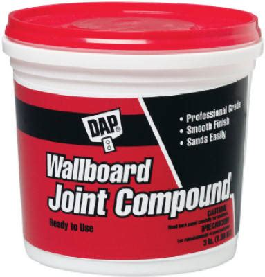 Plumbing Joint Compound by Dap Wallboard Joint Compound 1 Qt 10100