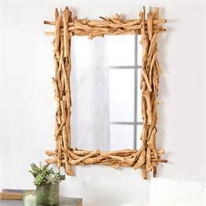 driftwood bathroom mirror natural driftwood wall mirror