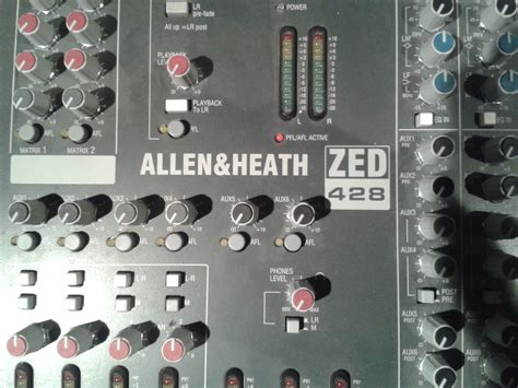 Mixer Allen Heath Zed 428 allen heath zed 428 image 754715 audiofanzine