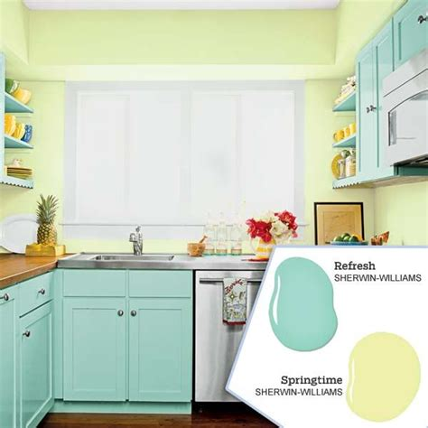 blue paint colors for kitchens five no fail palettes for colorful kitchens kitchen