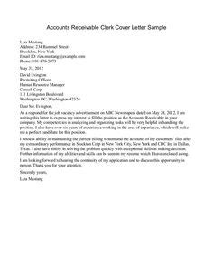 application letter creditors clerk position 1000 images about letter exles on letter