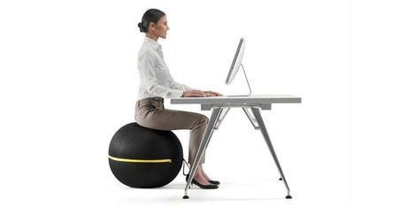 fitball come sedia sedie ergonomiche no grazie scelgo active sitting
