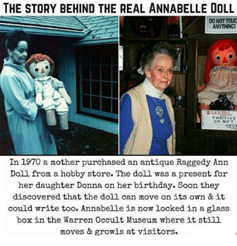 annabelle doll story museum 25 best memes about raggedy raggedy memes