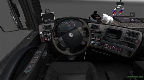 renault truck interior renault magnum interior 187 gamesmods net fs17 cnc fs15