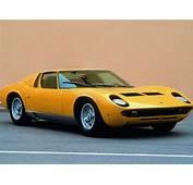 1968 Lamborghini Miura P400  Supercarsnet
