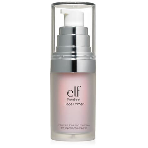 Review Eyeshadow Viva Pink e l f cosmetics poreless primer reviews