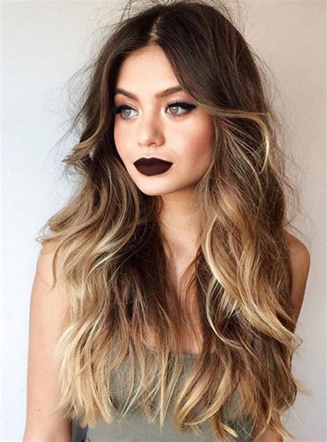 Brown Hairstyles For 50 2015 by 50 Ombre Hairstyles For Ombre Hair Color Ideas 2019