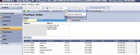 Accurate Software software akuntansi gratis bee accounting