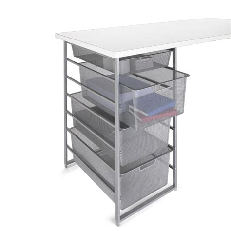 Container Store Elfa Drawers by Platinum Elfa Mesh Desk Drawers The Container Store