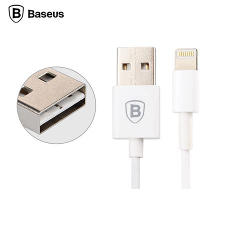 Baseus Fast Charging Lightning Cable 2m For Iphone 6 6 6s 6s White baseus fast charging lightning cable 2m for iphone 6 7 8 x