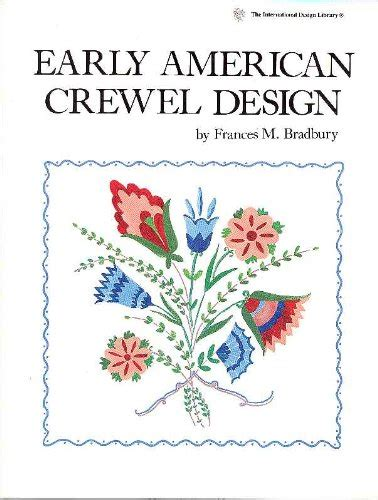 crewel embroidery a practical guide milner craft series books brand stemmer house pub early american crewel design