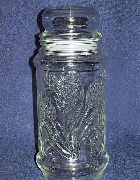 Planters Peanuts Glass Jar by Mr Peanut Glass Jar By Planters Peanuts 1982 From