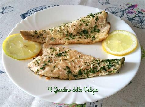 cucinare filetti di trota trota salmonata al vino il giardino delle delizie