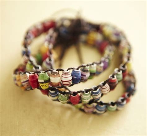 How To Make A Paper Bead Bracelet - how to create paper for jewelry jewelry