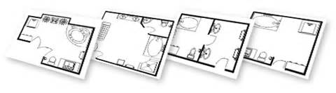 Bathroom design software download free plans amp layouts