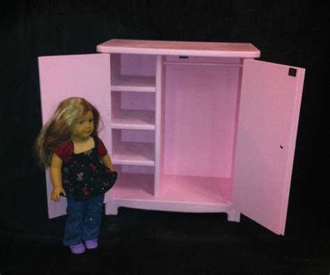 doll armoire for the american handcrafted american girl doll furniture by