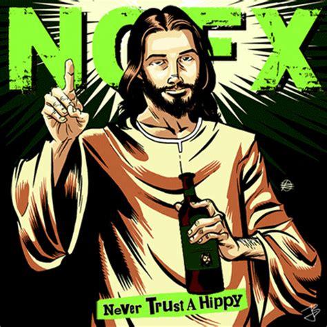 Vinyl Nofx I Heard They Live Lp nofx never trust a hippy animated