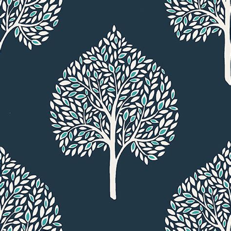 navy blue wallpaper uk a street prints grove blue wallpaper fd22705