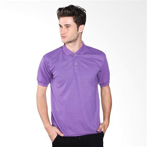 Basic Kaos Polos jual vm basic kaos polos polo shirt ungu harga