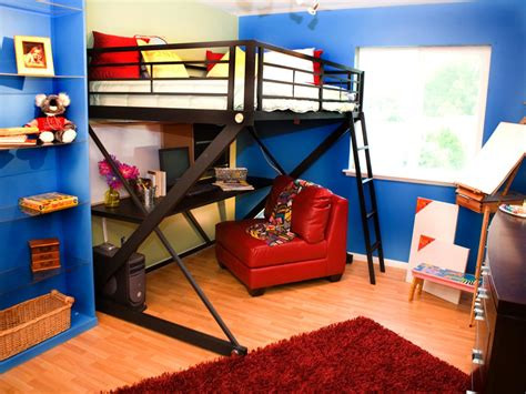 boy loft bed stylish kids bunk beds kids room ideas for playroom