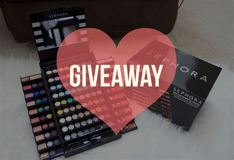 Sephora Giveaway - thechency s beaut 233 diary malaysia beauty lifestyle blogger youtuber giveaway