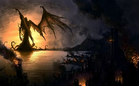 lovecraft wallpaper cthulhu wallpapers wallpaper cave