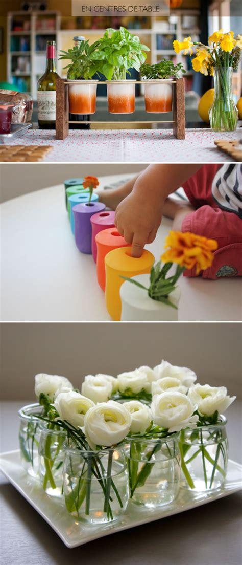 Sweet Table Vases 20 Diy Avec Des Pots De Yaourt