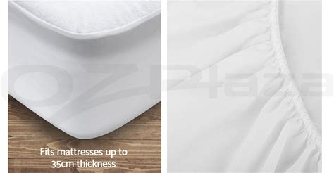 Do Mattress Protectors Make You Sweat by Fully Fitted Waterproof Mattress Protector Bamboo Cover