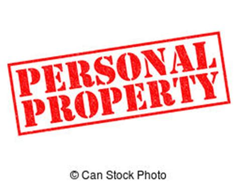 Personal Property Records Personal Property Illustrations And Clip 940 Personal Property Royalty Free