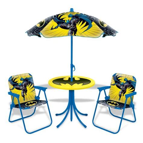 batman table and chairs pictures to pin on