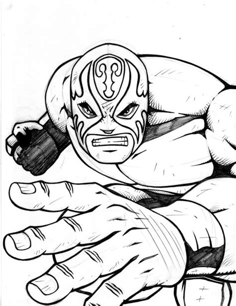 free coloring pages of wwe